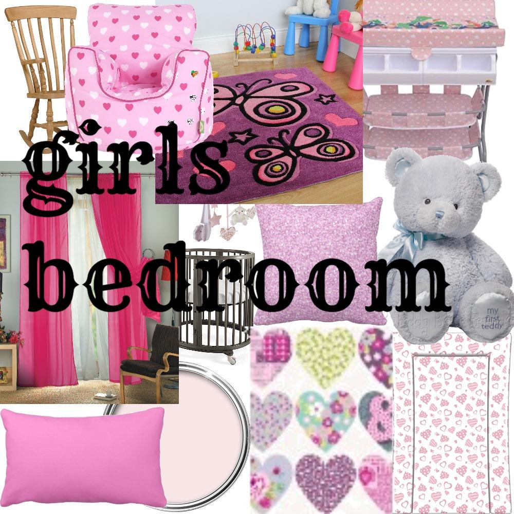 girls bedroom Mood Board by SEVDA43 on Style Sourcebook