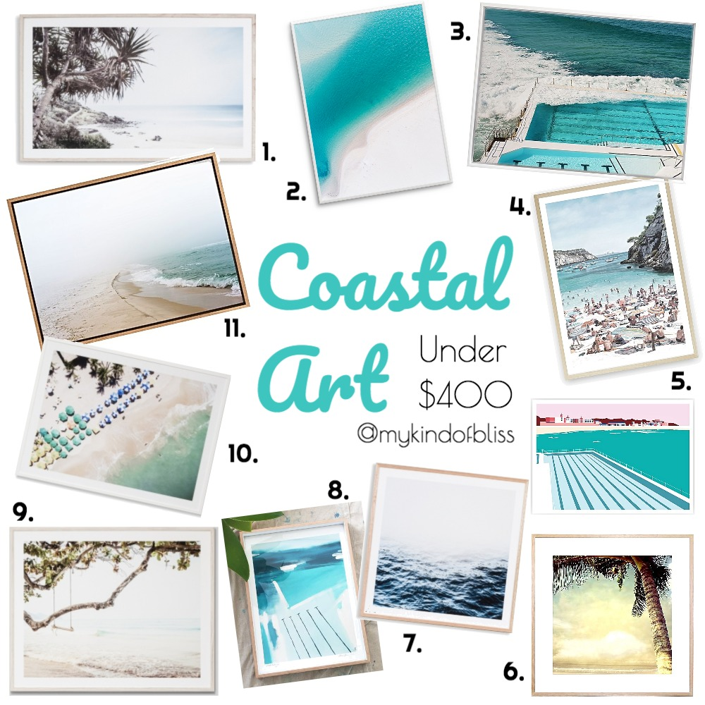 COASTAL  ART UNDER $400 Mood Board by My Kind Of Bliss on Style Sourcebook
