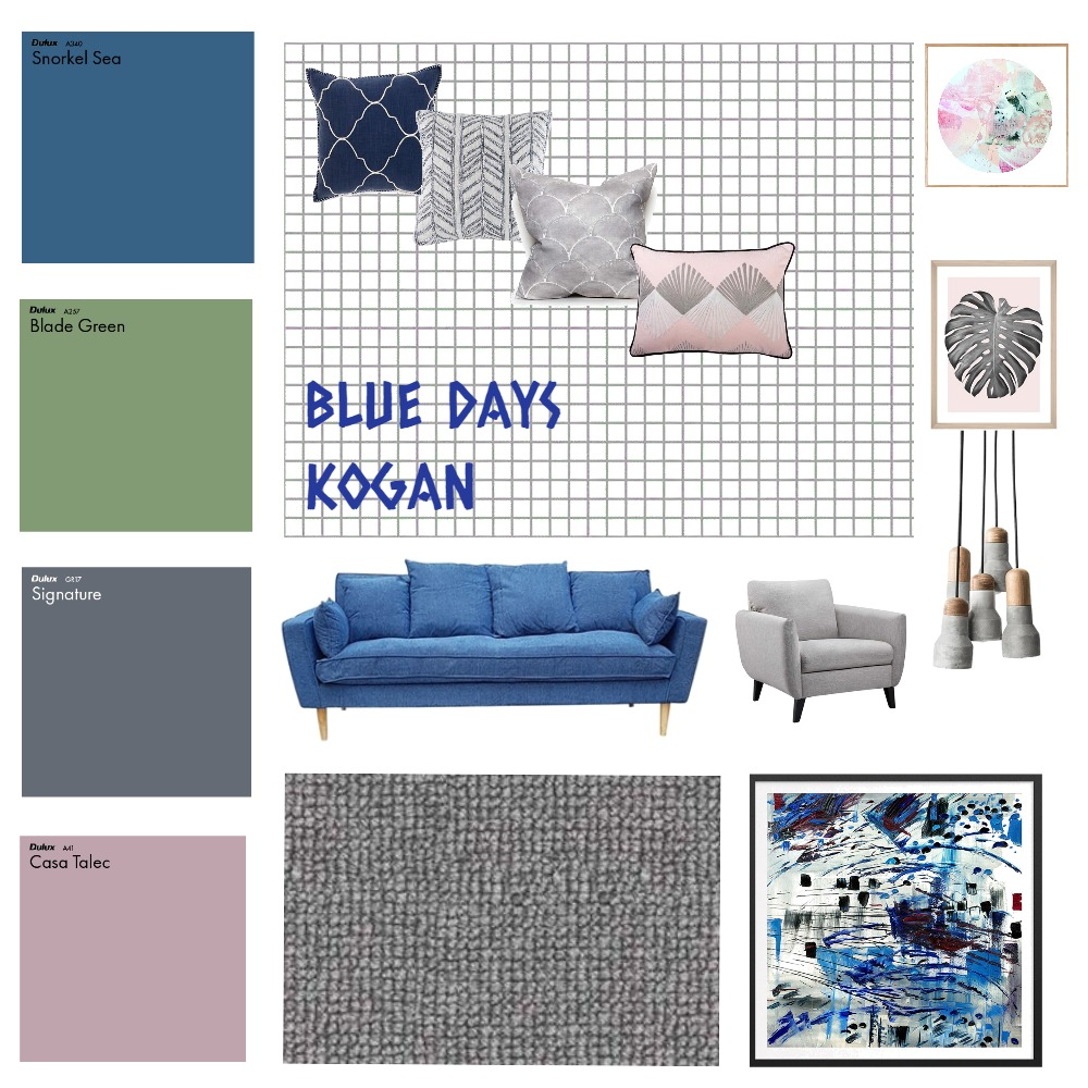 BLUE GRAY STYLING Interior Design Mood Board by tali.1.alon on Style Sourcebook