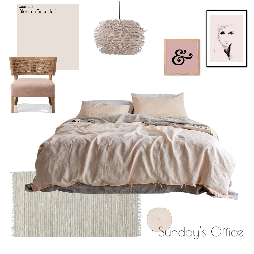 Sunday's Office Mood Board by TheBlushCollective on Style Sourcebook