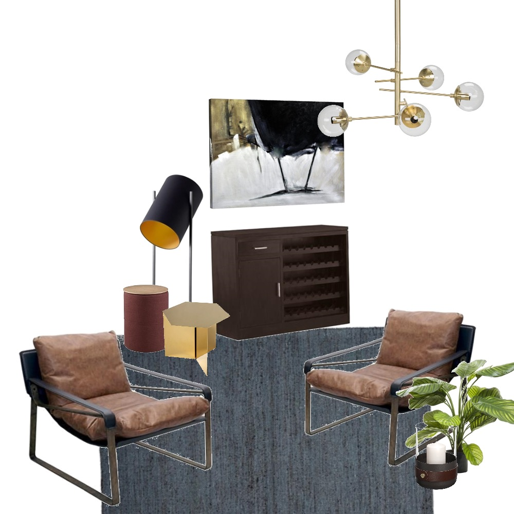 Modern Sitting room Interior Design Mood Board by Studio of Design on Style Sourcebook