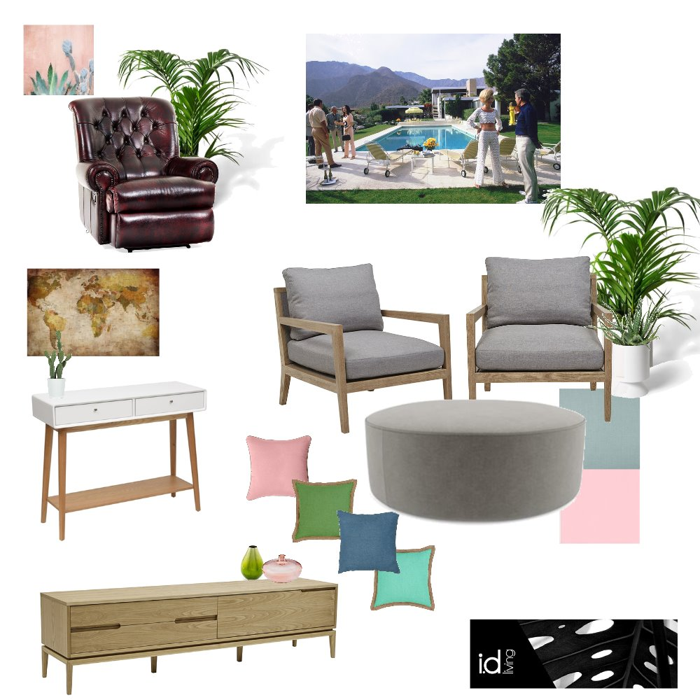 Palm Springs Mood Board by cheryl on Style Sourcebook