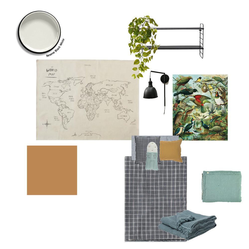 Dexter Mood Board by The Place Project on Style Sourcebook