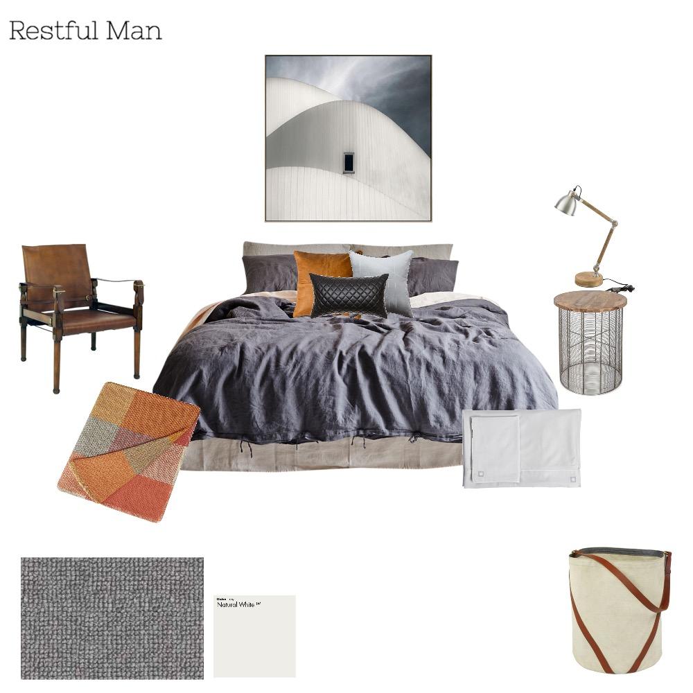 Restful masculine Mood Board by Melissa Welsh on Style Sourcebook