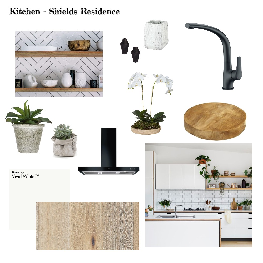 Scandi Style Country Kitchen Interior Design Mood Board by Cedar & Snø Interiors on Style Sourcebook