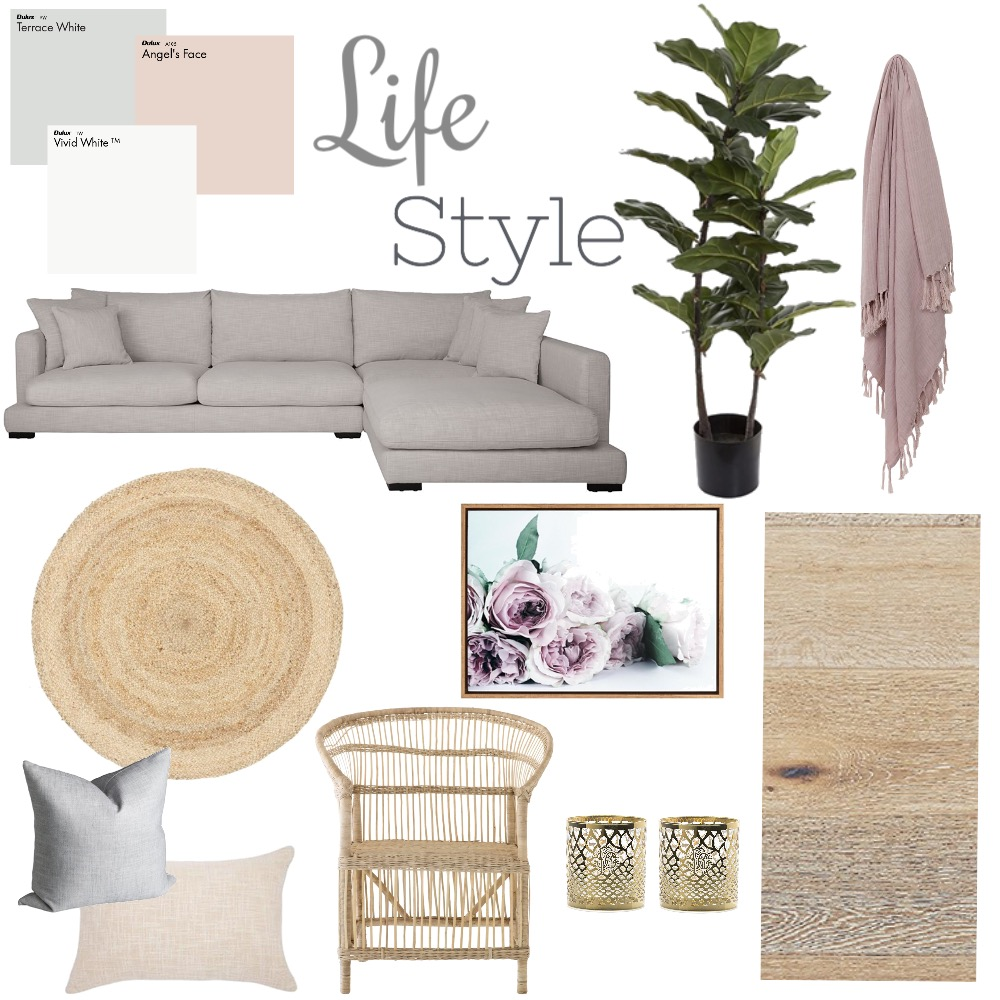 lounge room inspo Mood Board by shanara on Style Sourcebook