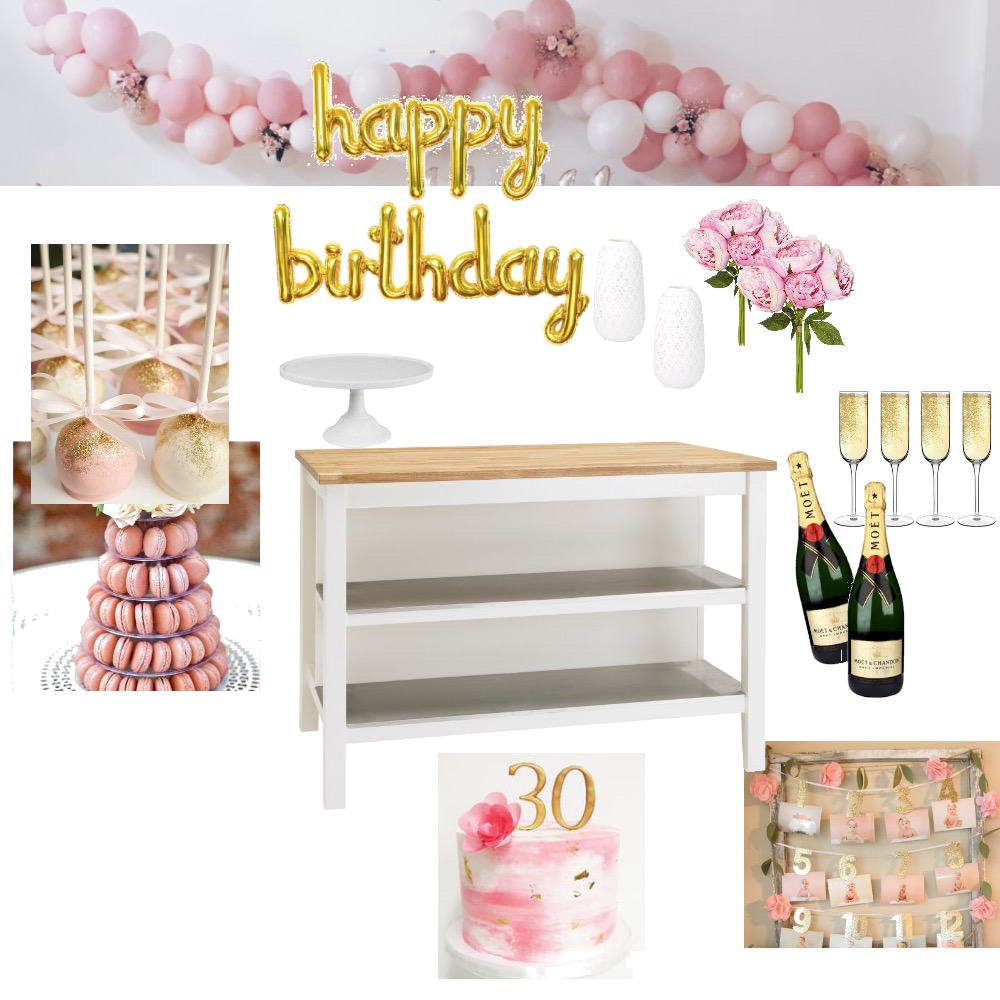 Birthday Mood Board by kylie_s on Style Sourcebook