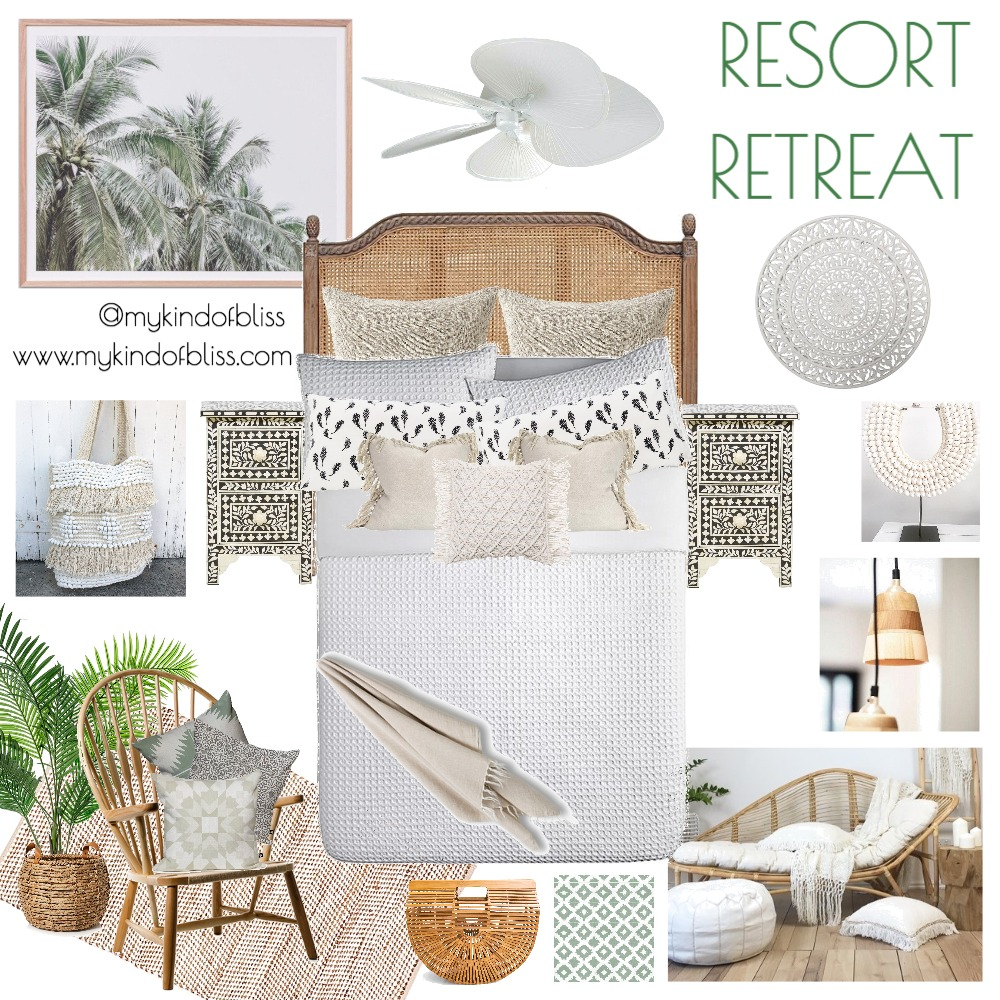Resort Retreat Mood Board by My Kind Of Bliss on Style Sourcebook