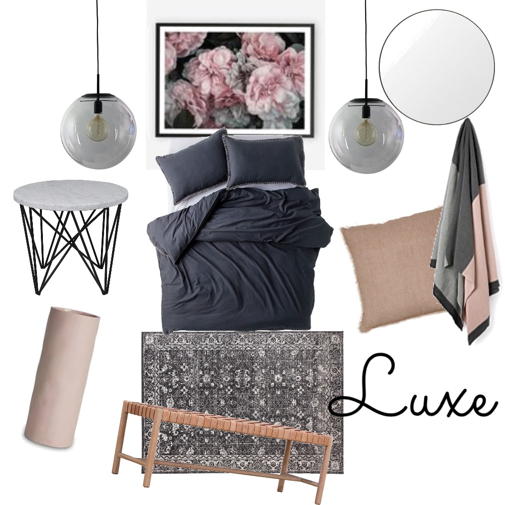 Bedroom Luxe Mood Board by Zoe on Style Sourcebook