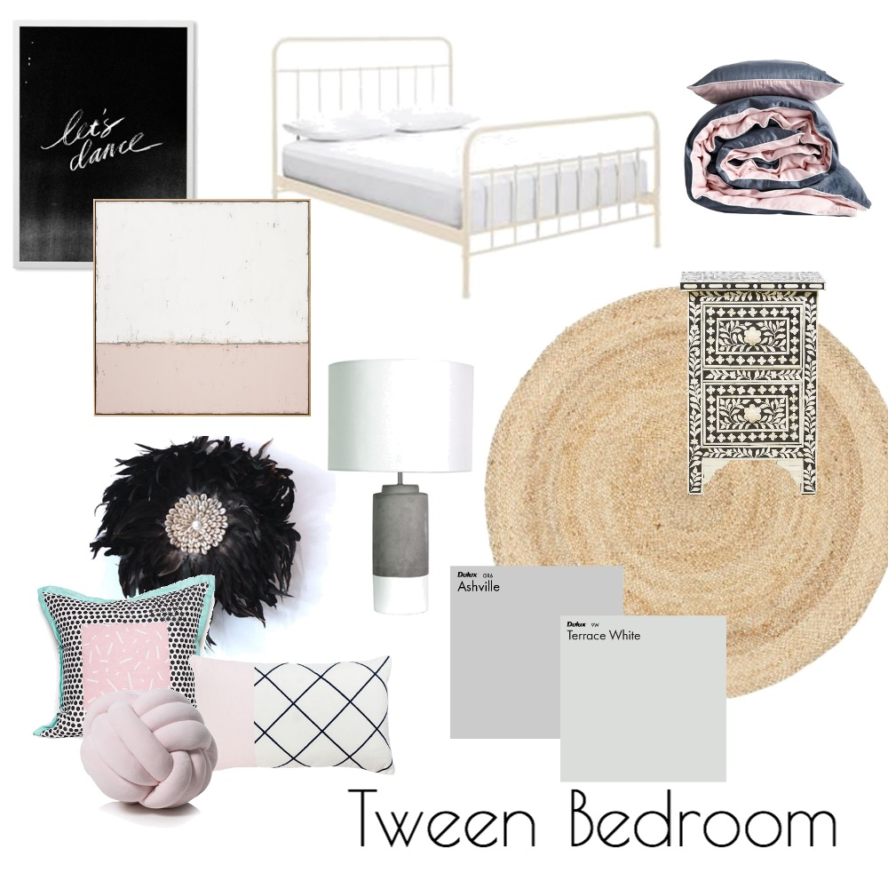 tween bedroom Mood Board by emmanewton on Style Sourcebook