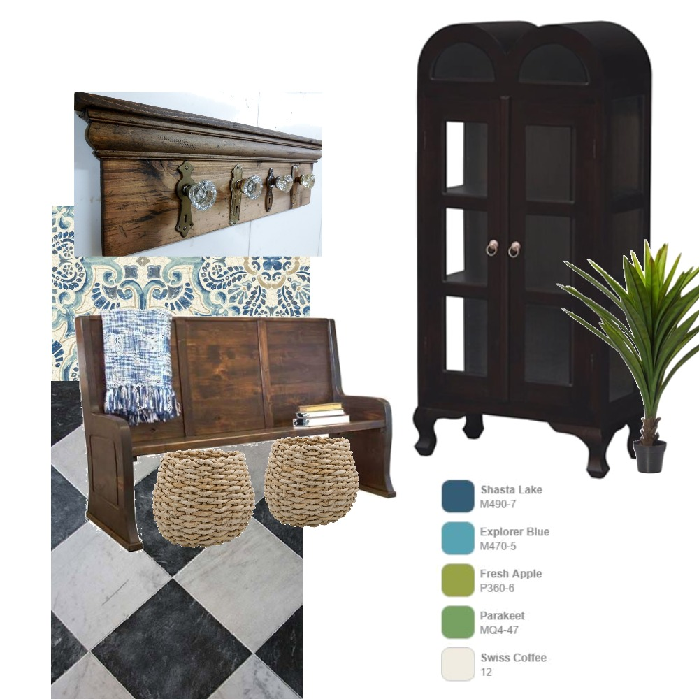 Foyer Interior Design Mood Board by Nicoletteshagena on Style Sourcebook