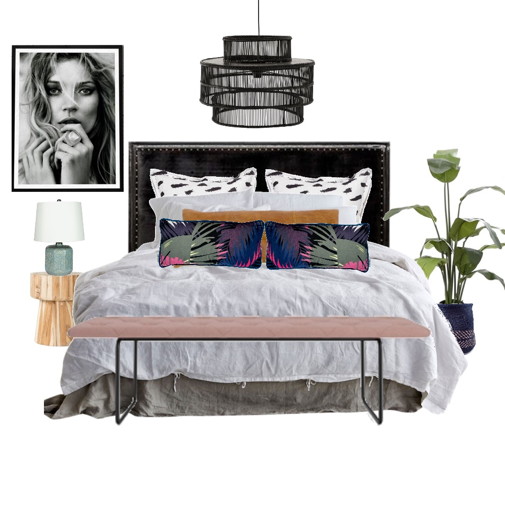 Tropical Lux Bedroom Interior Design Mood Board by Studio of Design on Style Sourcebook
