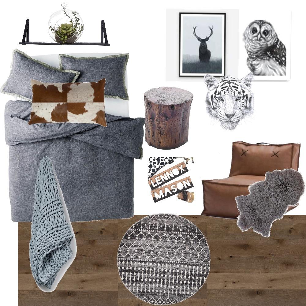 Scandinavian Winter Boys Room Mood Board by Zoe on Style Sourcebook