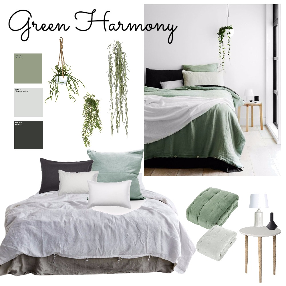 Green Harmony Mood Board by ChampagneAndCoconuts on Style Sourcebook