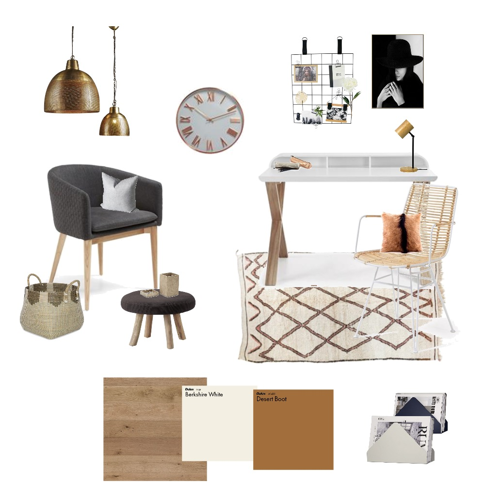 study room Interior Design Mood Board by farmehtar on Style Sourcebook