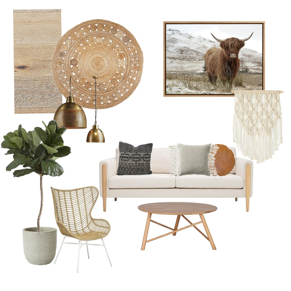 Natural vibe Mood Board by Rebecca Kurka on Style Sourcebook