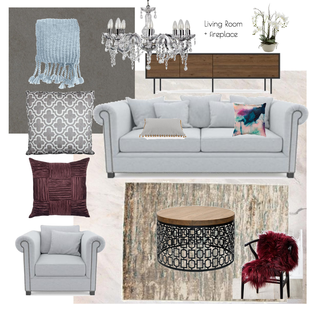 Lina and Quang Living Room Mood Board by Plush Design Interiors on Style Sourcebook