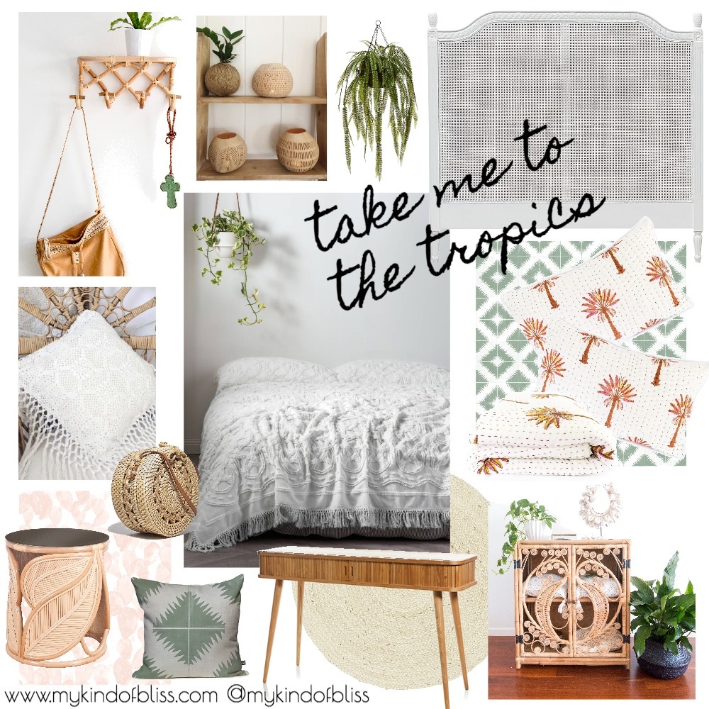 Take Me to the Tropics Mood Board by My Kind Of Bliss on Style Sourcebook
