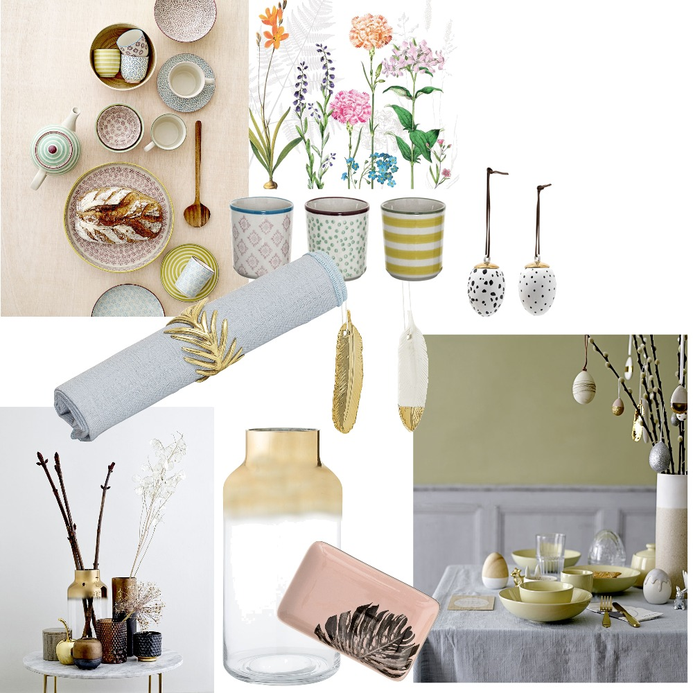 Easter Mood Board by Tania on Style Sourcebook