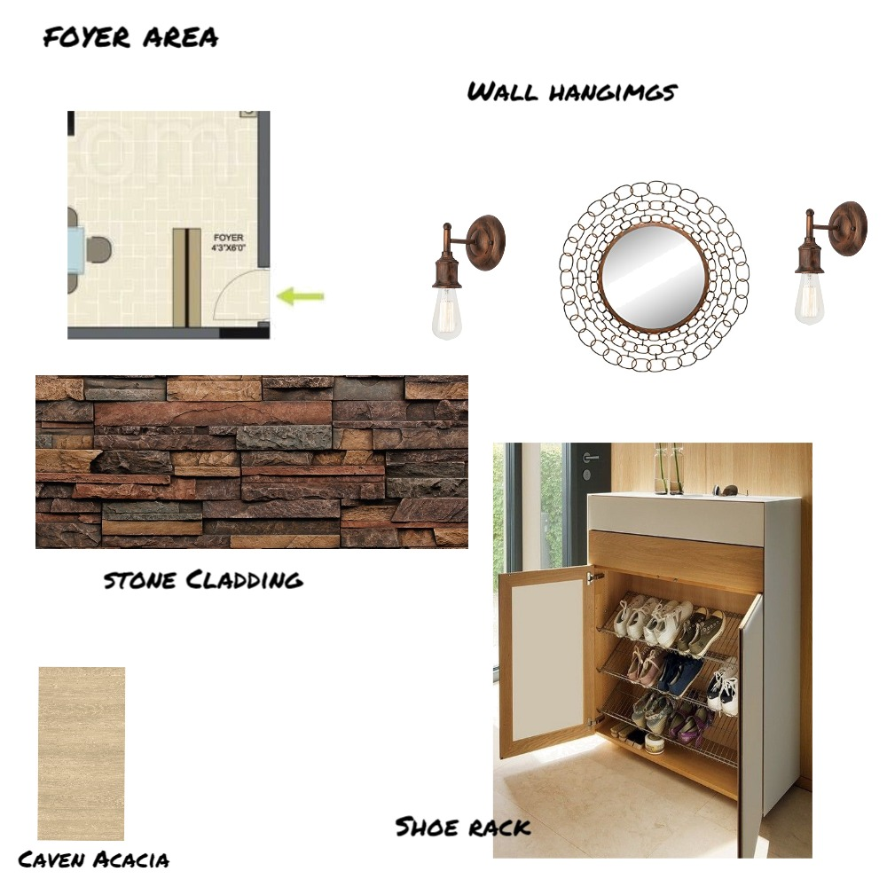 Foyer Area Mood Board by pradeep on Style Sourcebook