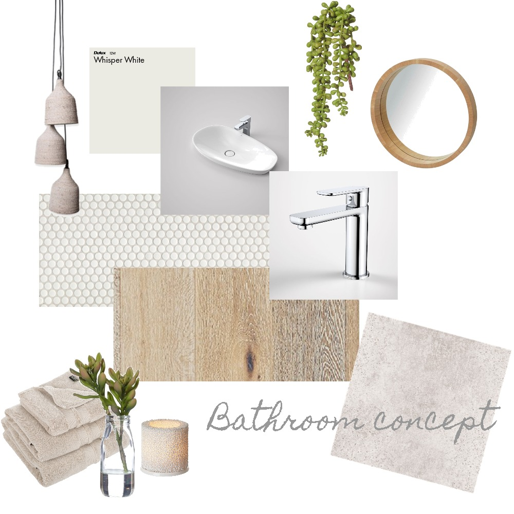 Organic Bathroom Mood Board by Priscilla De Luca on Style Sourcebook