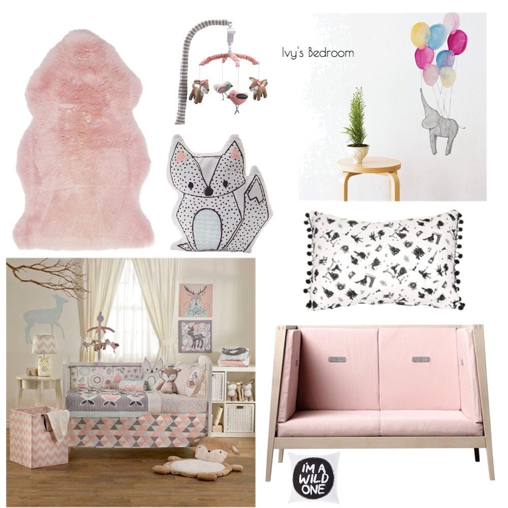 Lina and Quang - Ivy's Bedroom Mood Board by Plush Design Interiors on Style Sourcebook