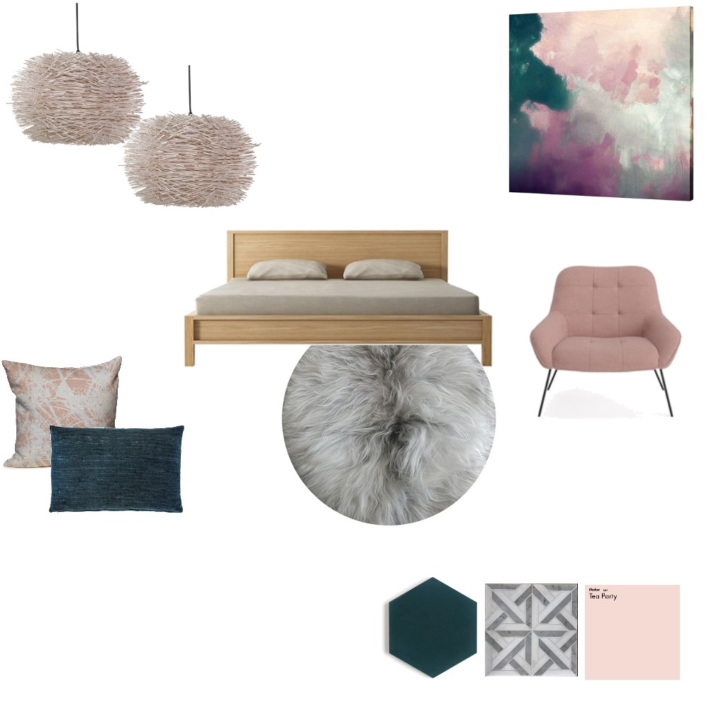 Moody Pink Mood Board by JennaSmith on Style Sourcebook