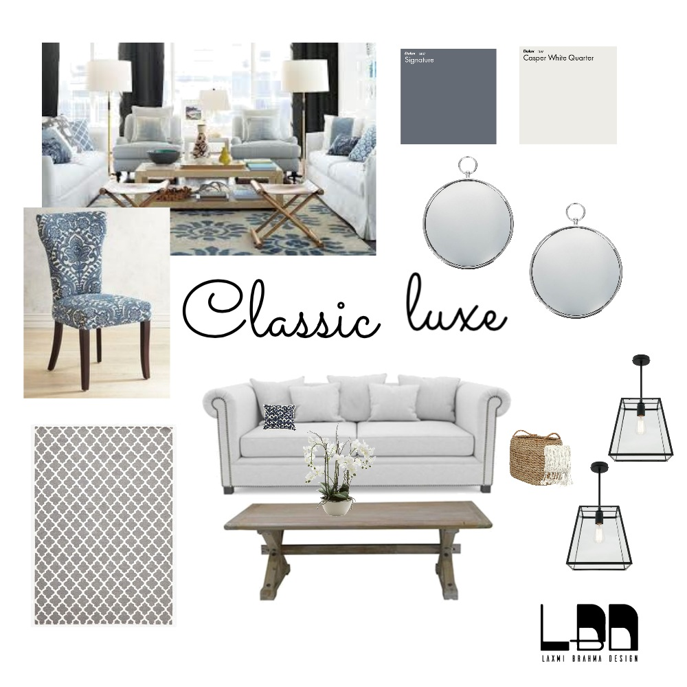 Classic luxe Interior Design Mood Board by cathy on Style Sourcebook