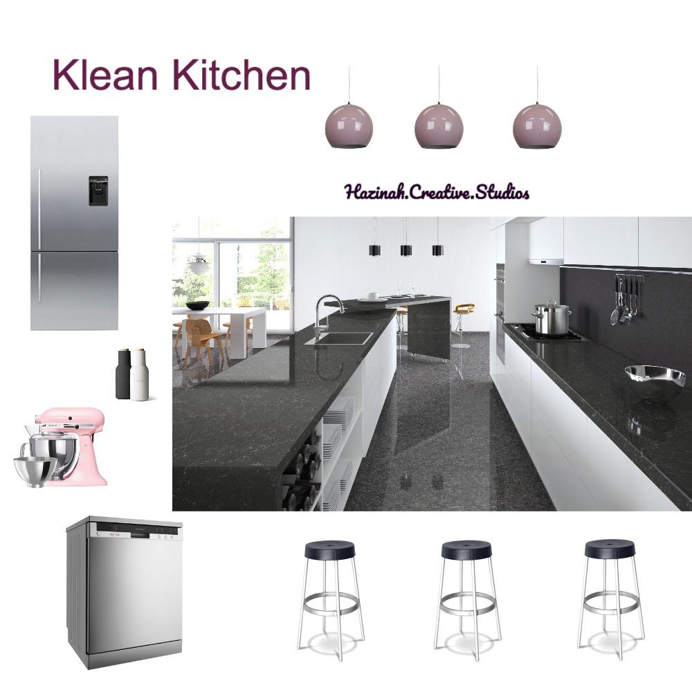 Klean Kitchen Interior Design Mood Board by Gugz on Style Sourcebook