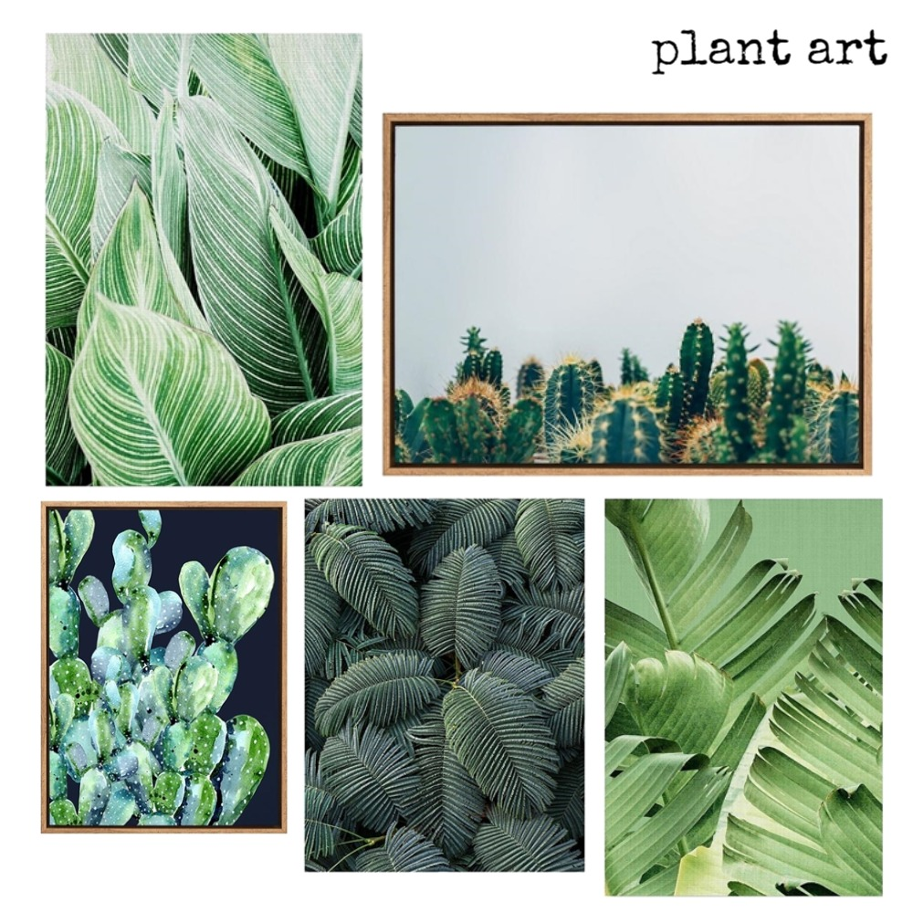Plant art Mood Board by artoflife on Style Sourcebook