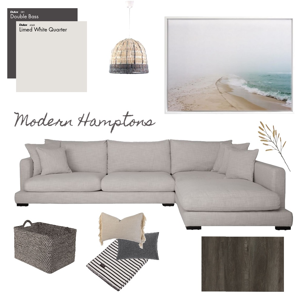 Modern Hamptons Interior Design Mood Board by TheBlushCollective on Style Sourcebook