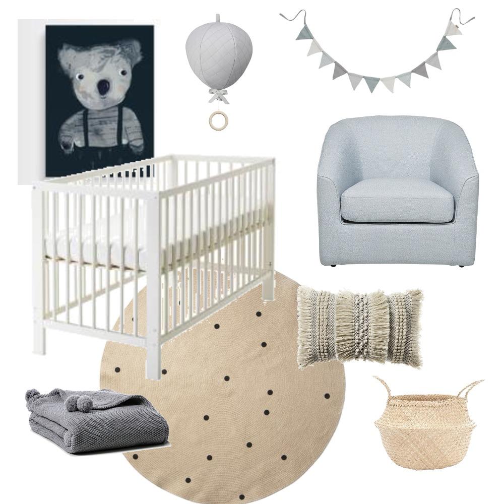 Nursery Design Mood Board by Katy Thomas Studio on Style Sourcebook