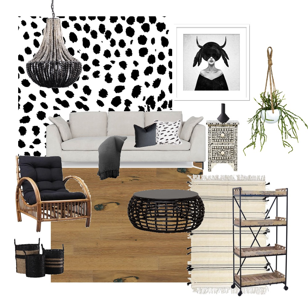 Tribal Mood Board by Two Wildflowers on Style Sourcebook