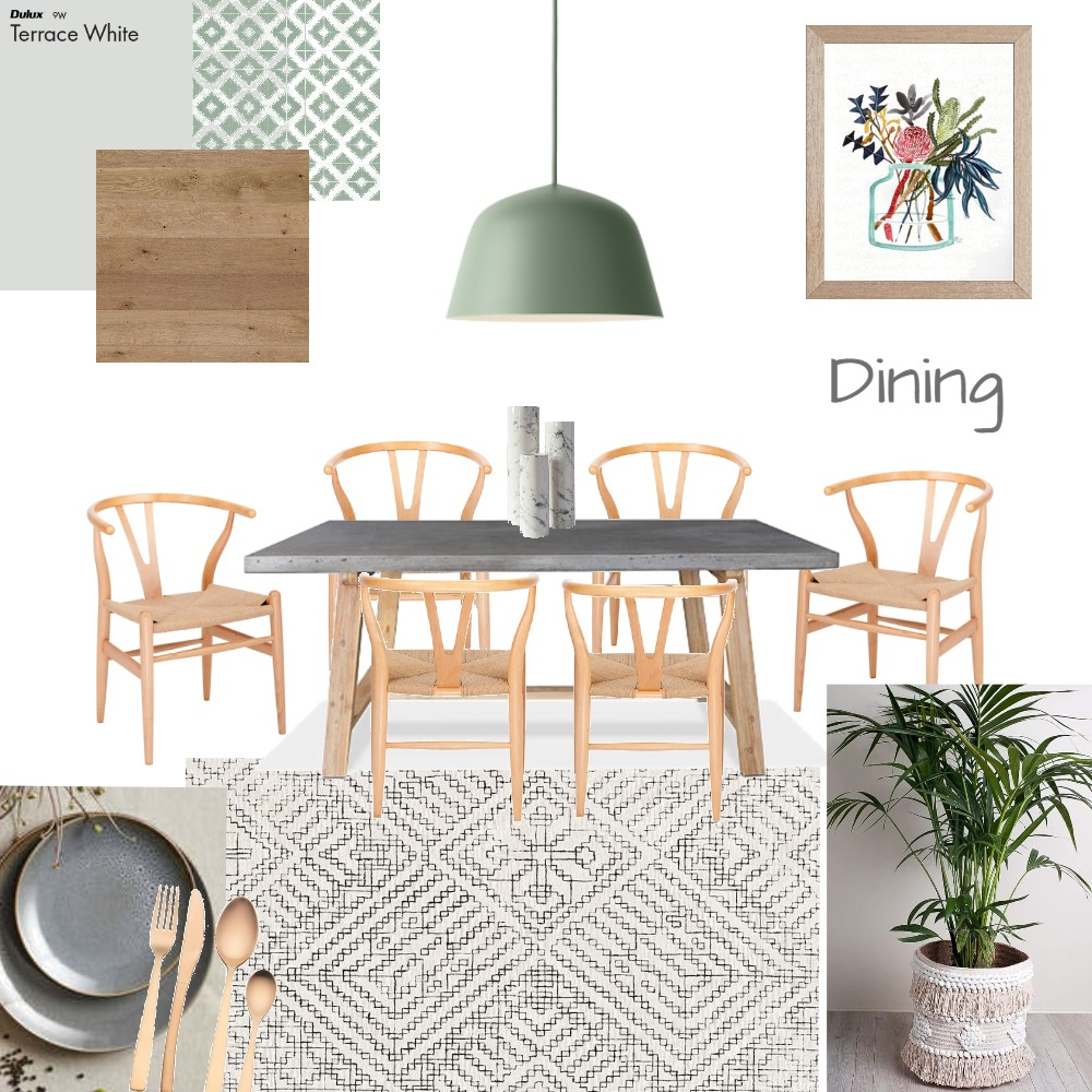 Dining Room Mood Board by dritlop on Style Sourcebook