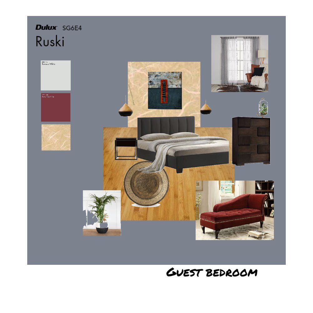 Guest bedroom Mood Board by Bego on Style Sourcebook