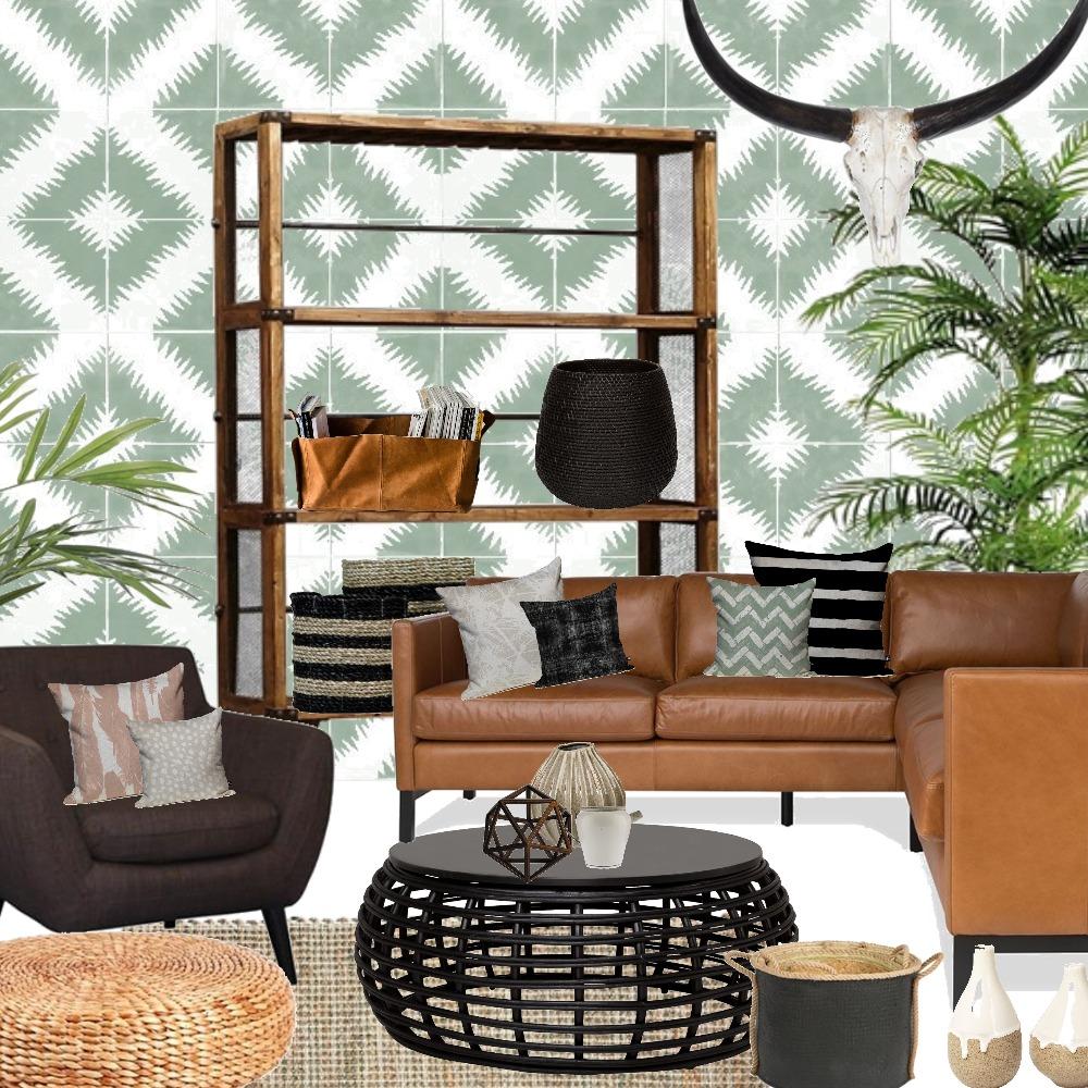 Tribal Tropical Interior Design Mood Board by Grace Garrett on Style Sourcebook