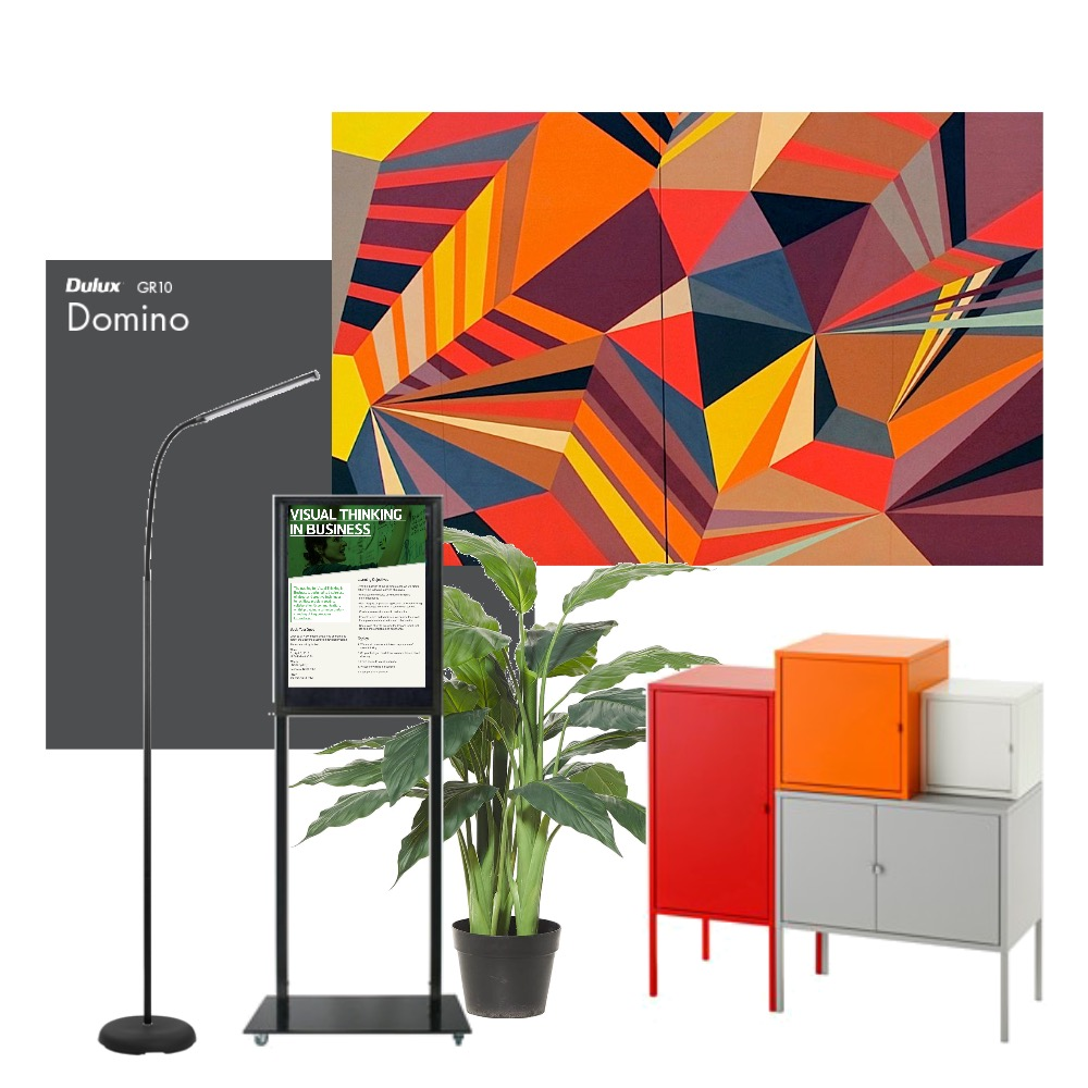 UNSW_Notice Board Mood Board by DesignerCM on Style Sourcebook