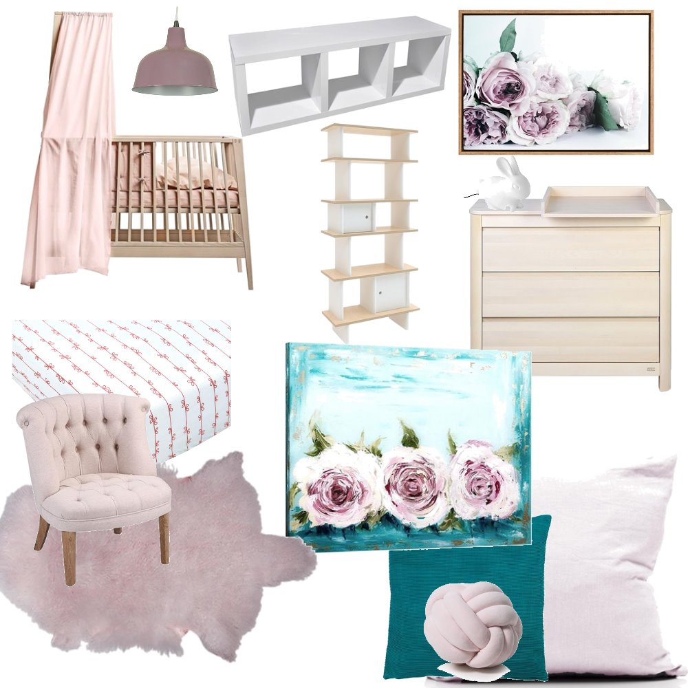 Baby room Mood Board by RuvedeBeer on Style Sourcebook
