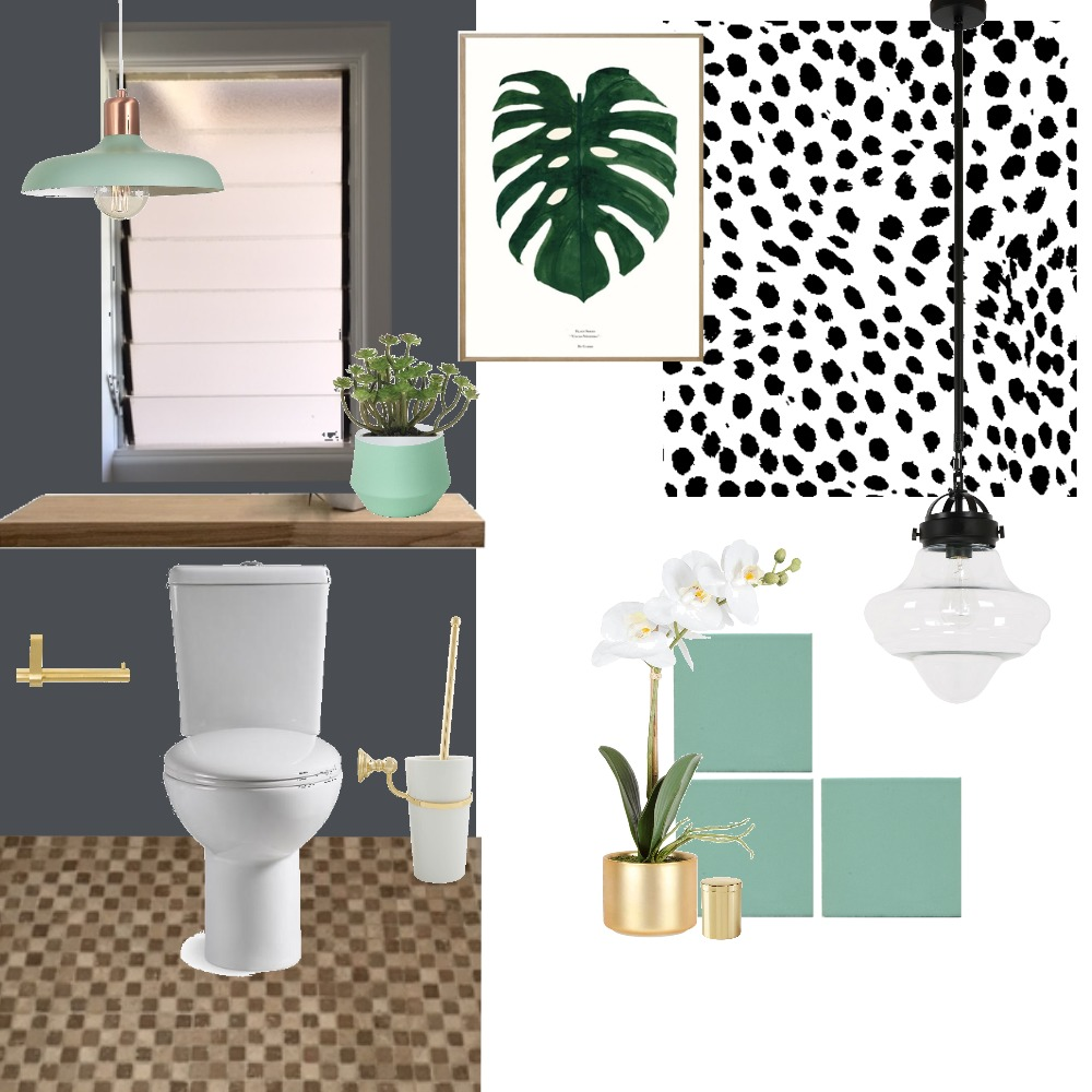 Powder Room Mood Board by Holm_and_Wood on Style Sourcebook