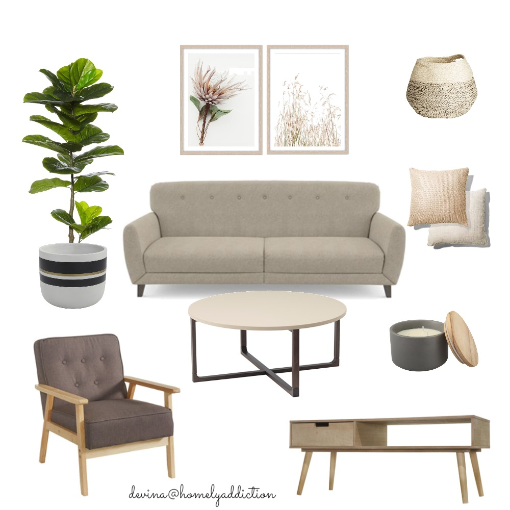 Living AV2802 Interior Design Mood Board by HomelyAddiction on Style Sourcebook