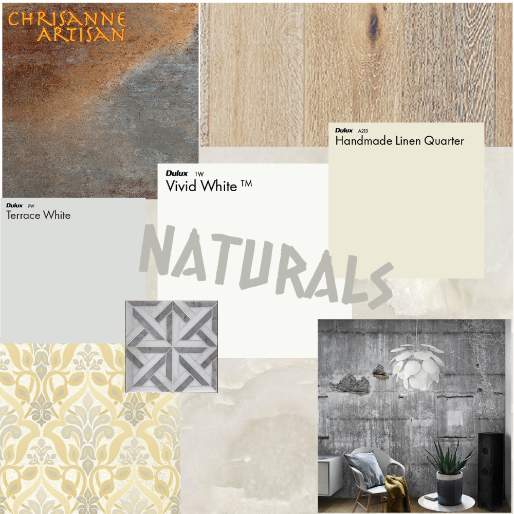 CA - Naturals Mood Board by ChrisanneArtisan on Style Sourcebook