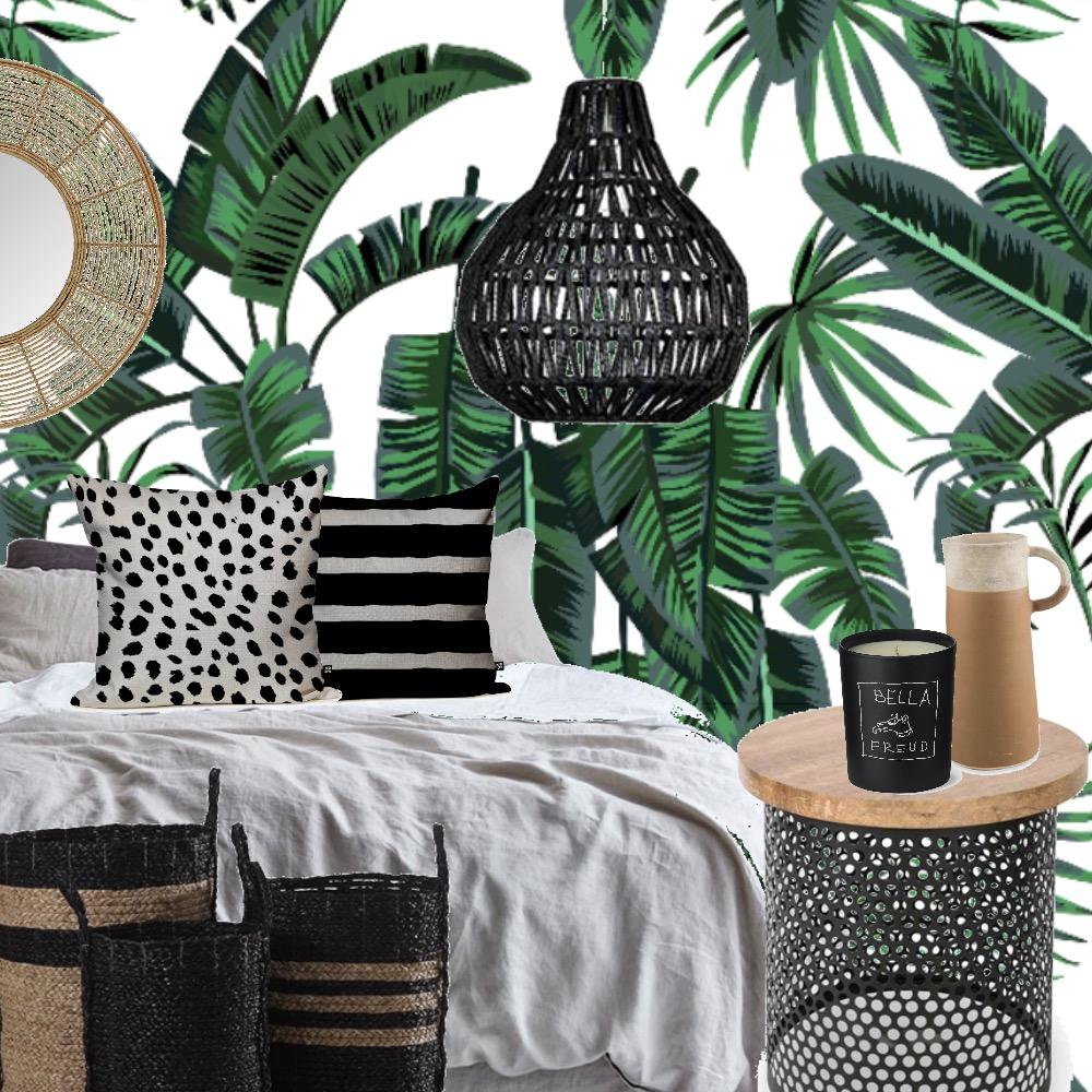 Tropical Luxe Interior Design Mood Board by Grace Garrett on Style Sourcebook