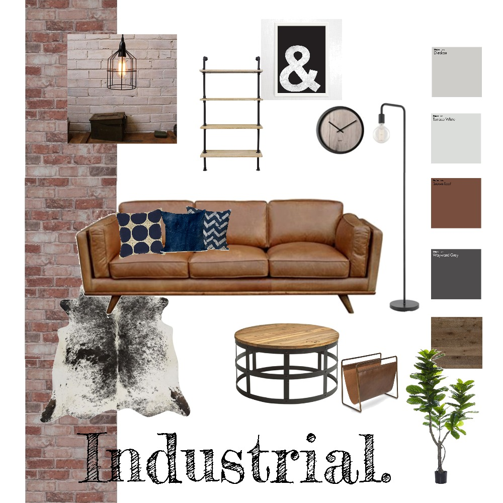 Industrial Mood Board by Priscilla De Luca on Style Sourcebook