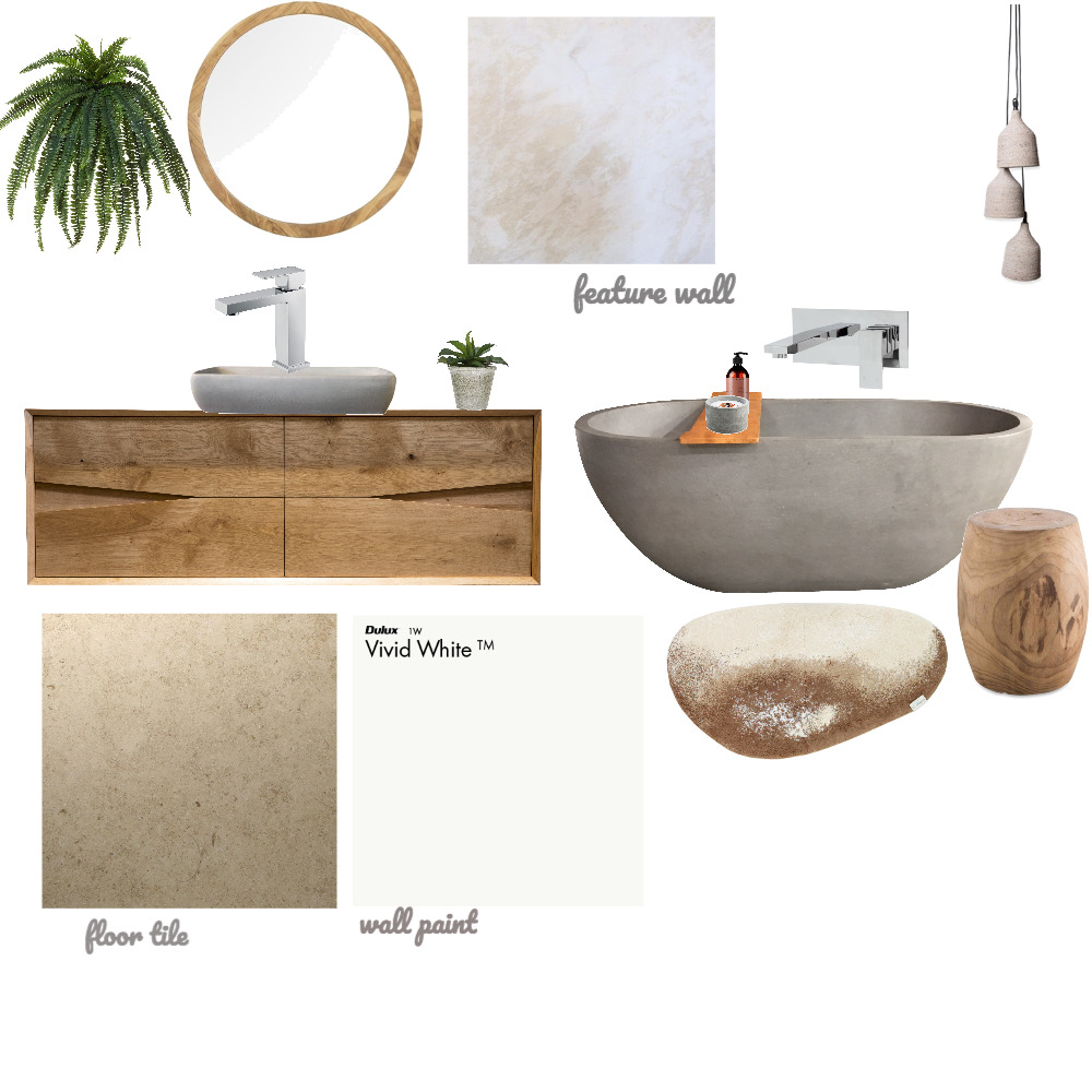 Bathroom Interior Design Mood Board by TheLittleWhiteNest on Style Sourcebook