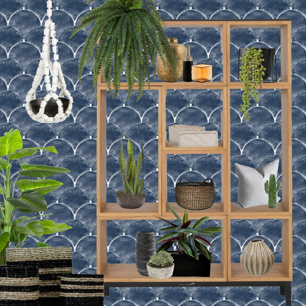 Fish - Scale Wallpaper Mood Board by Grace Garrett on Style Sourcebook