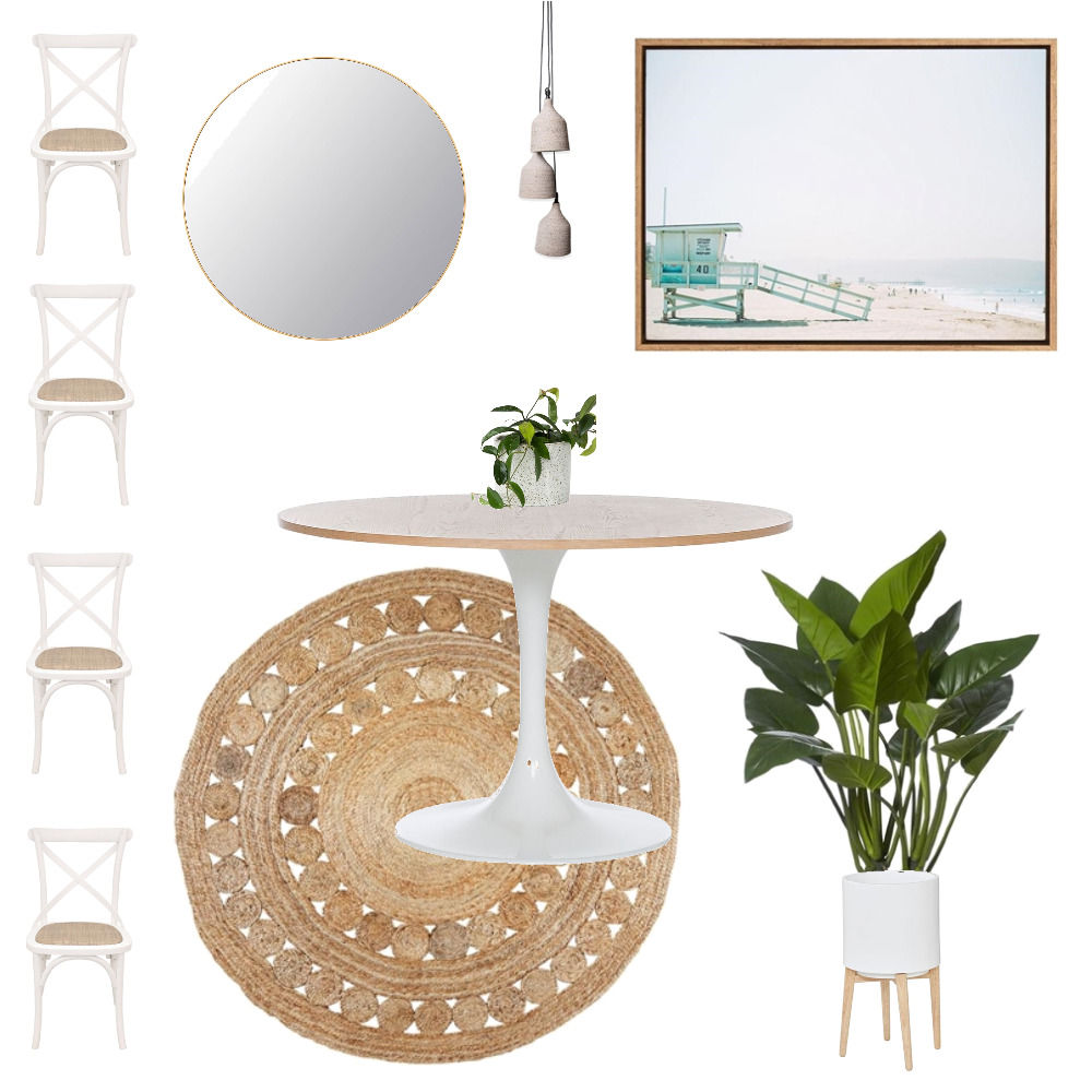 Australian Coastal Dining Room Mood Board by KellyJones on Style Sourcebook