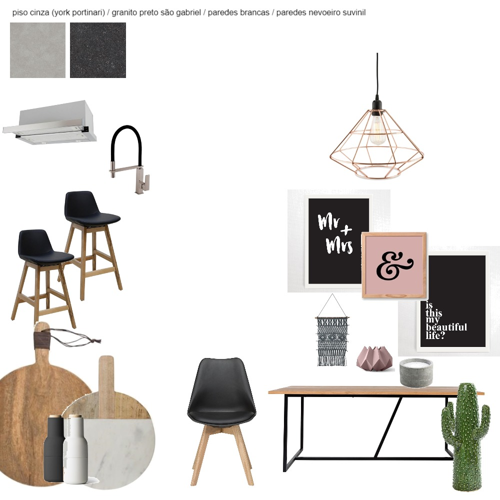 cozinha e sala Interior Design Mood Board by marcelarossi on Style Sourcebook