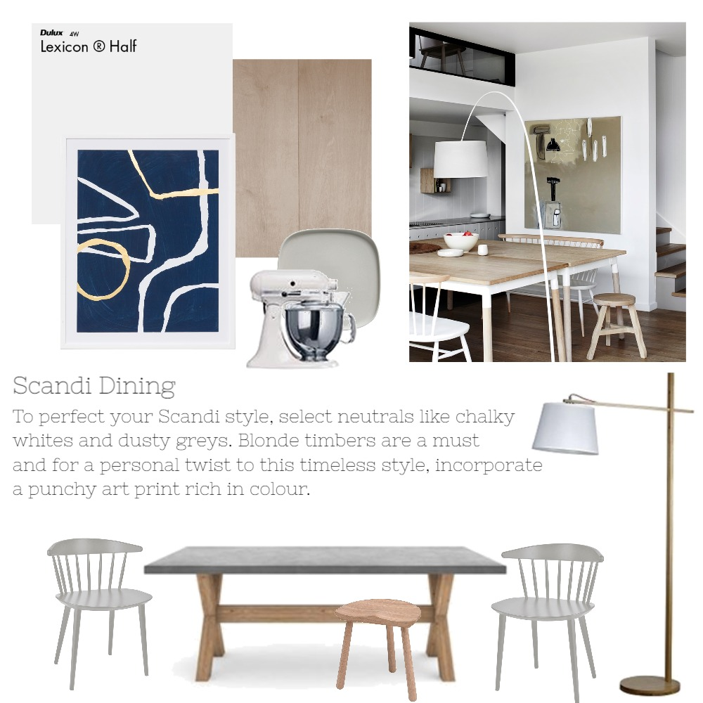 Scandi Mood Board by Silvia Roldan Interiors on Style Sourcebook