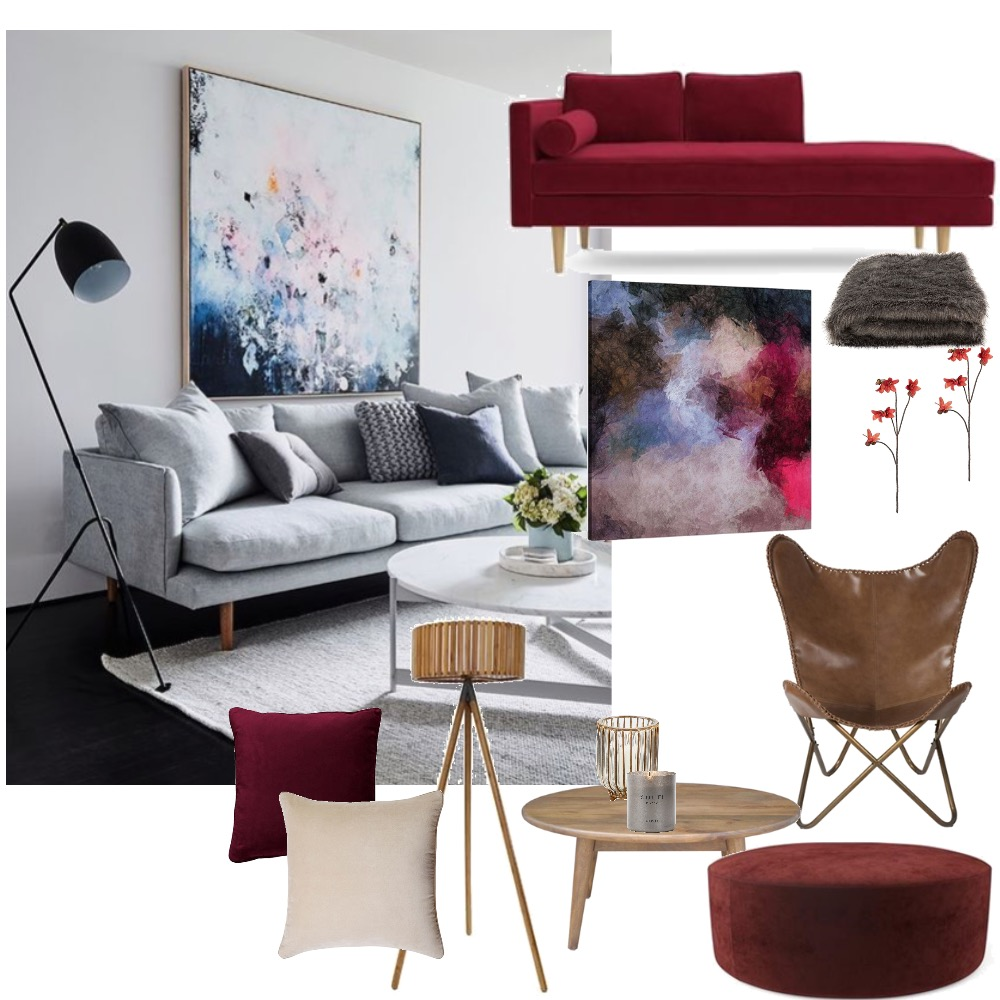 Cool to Warm Mood Board by Geotoria on Style Sourcebook