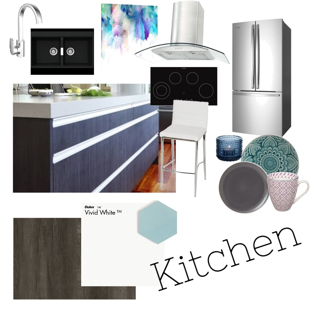 Client Kitchen Mood Board by JasmineButterfield1998 on Style Sourcebook